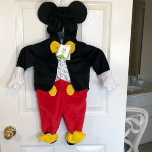 NWT Micki Mouse Halloween Costume outfit size 6 mo
